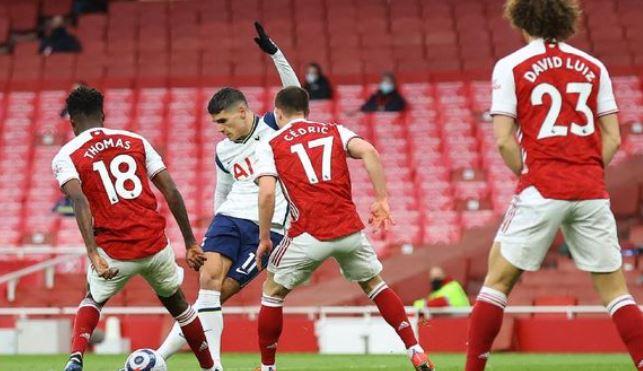 Arsenal vs Tottenham Hotspur 2–1 Highlights