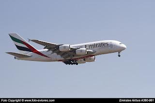 Avión Airbus A380 A6-EOK