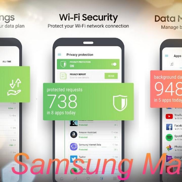 سامسونج تطلق تطبيق Samsung Max لحفظ بيانات الهاتف وحماية