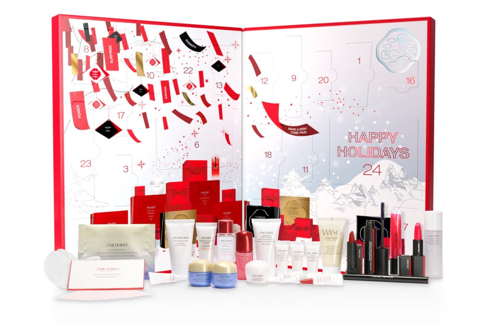 shiseido adventný kalendár