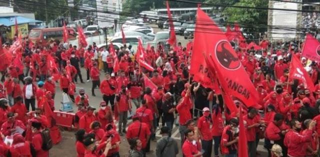 Pembakaran Bendera Ada Di Jakarta Tapi PDIP Berlomba Lapor Polres, Pakar Hukum: Bukti Hukum Diatur Politik