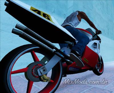 gta sa bike moto nrg-500 nrg500 nrg hd hq remaster remastered ezekiel