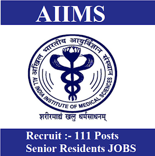 All India Institute of Medical Science, AIIMS, Rajasthan, AIIMS Jodhpur, Senior Resident, Graduation, freejobalert, Sarkari Naukri, Latest Jobs, aiims jodhpur logo
