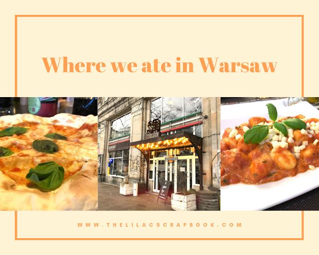 best restaurants in warsaw