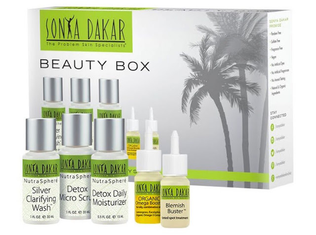 Sonya Dakar Clarifying Detox Beauty Box