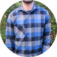 Mammoth Plaid Thread Theory Fairfield shirt via SEWN sewing blog
