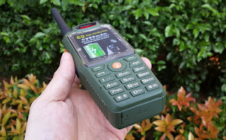 Hape Plus HT i-Cherry C133 Walky Talky UHF With Beltclip 6000mAh Battery