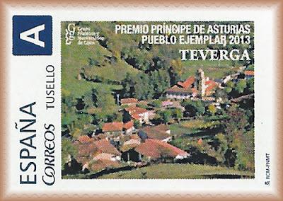 sello personalizado, tu sello, sello, Teverga, premio, Príncipe de Asturias