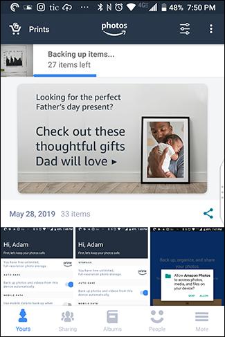 تأتي أمازون أيضًا مع حزمة من الإعلانات لبيع الأشياء لك.