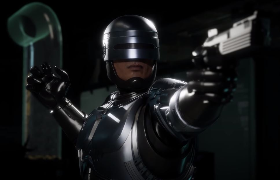 Mortal Kombat 11 - Aftermath Story And Character DLC robocop.