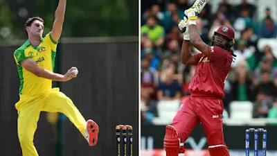 AUS vs WI ICC World Cup 2019 10th match cricket win tips