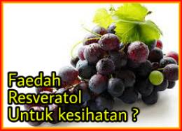 Faedah resveratrol untuk kesihatan