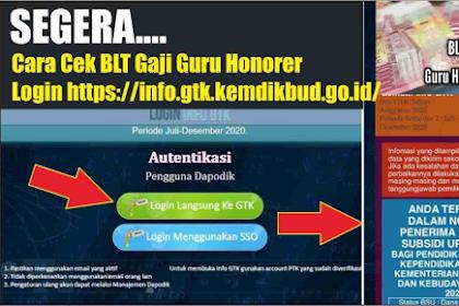 CEK Sekarang! Inilah Nama Penerima BLT Guru Honorer Kemdikbud, Klik Link Ini DISINI