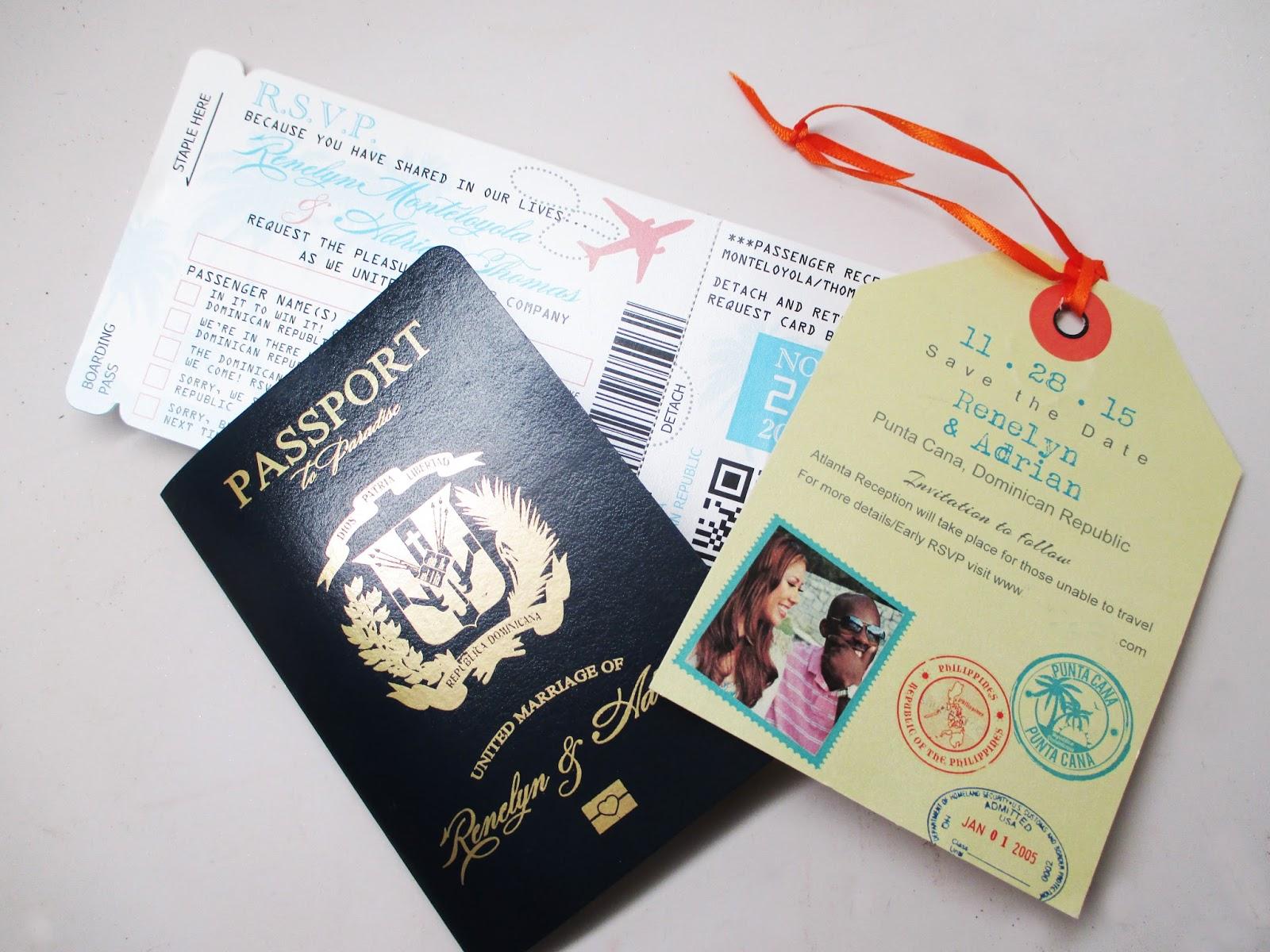 Destination Wedding Invitations When To Send: Wedding Series: Our Destination Wedding Save The Dates And