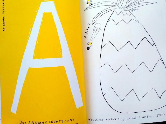 A jak ananas to pierwsza literowa przekąska