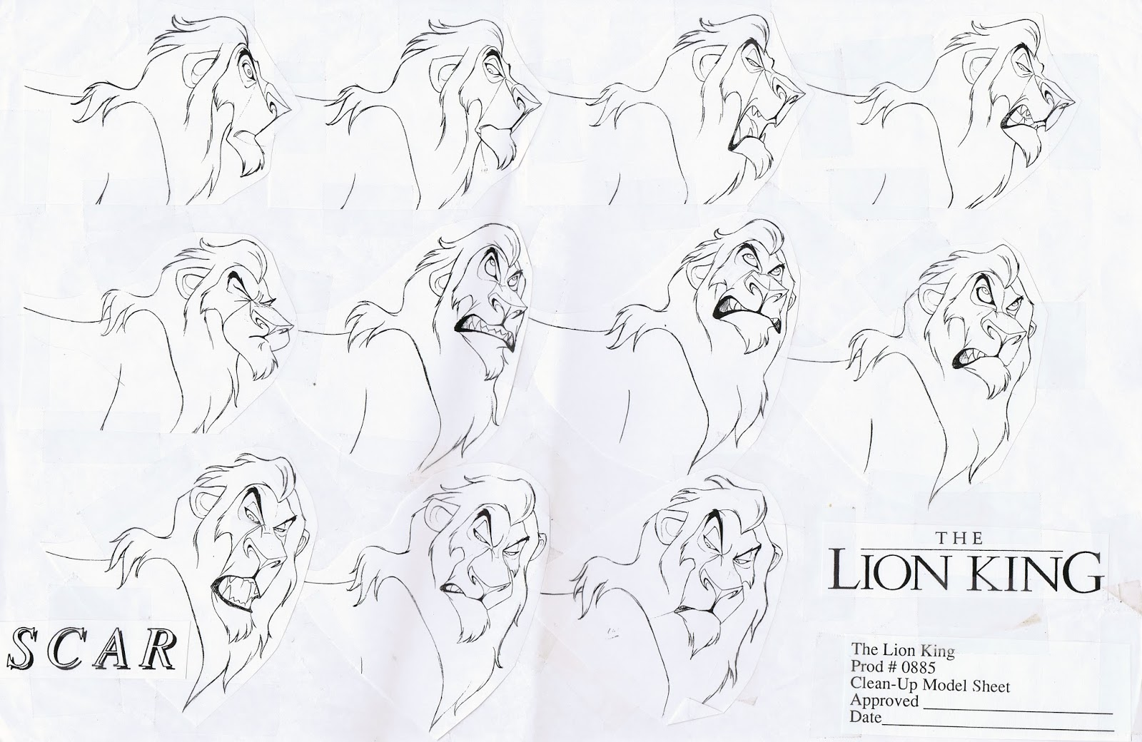 Deja View Drawing Lions