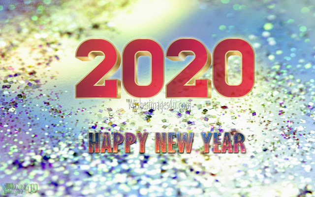 Happy New Year 2020 1080p Photos With Sparkling Background