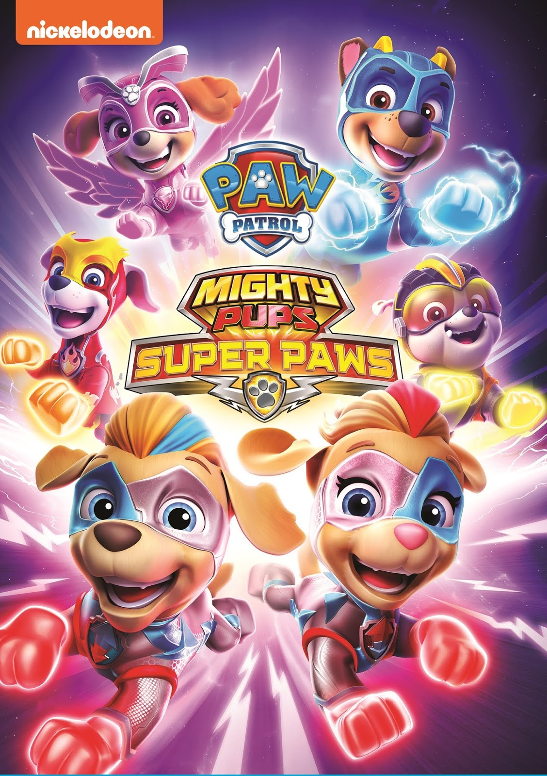 Paw Patrol: Mighty Pups – Super Paws [2020] [DVDR] [NTSC] [Latino]