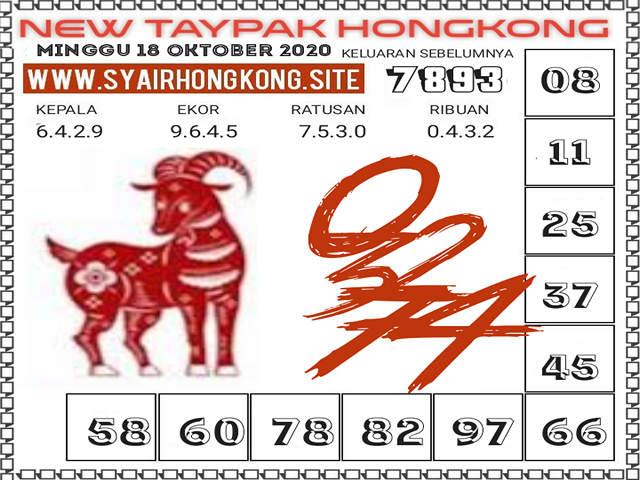 Kode syair Hongkong Minggu 18 Oktober 2020 265