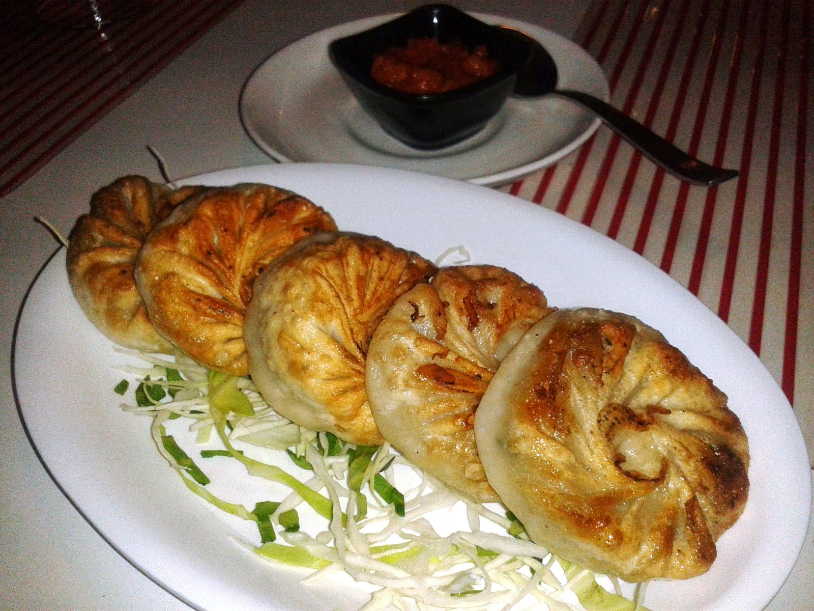 Veg Pan Fried Dumplings