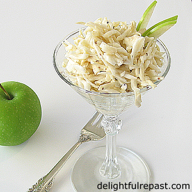 delightful repast celery root remoulade c leri rave r moulade a french classic. Black Bedroom Furniture Sets. Home Design Ideas