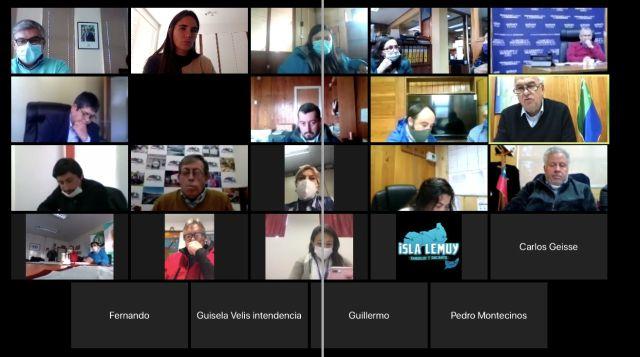 Osorno: Intendente se reúne con Alcaldes para coordinar entrega de cajas de alimentos