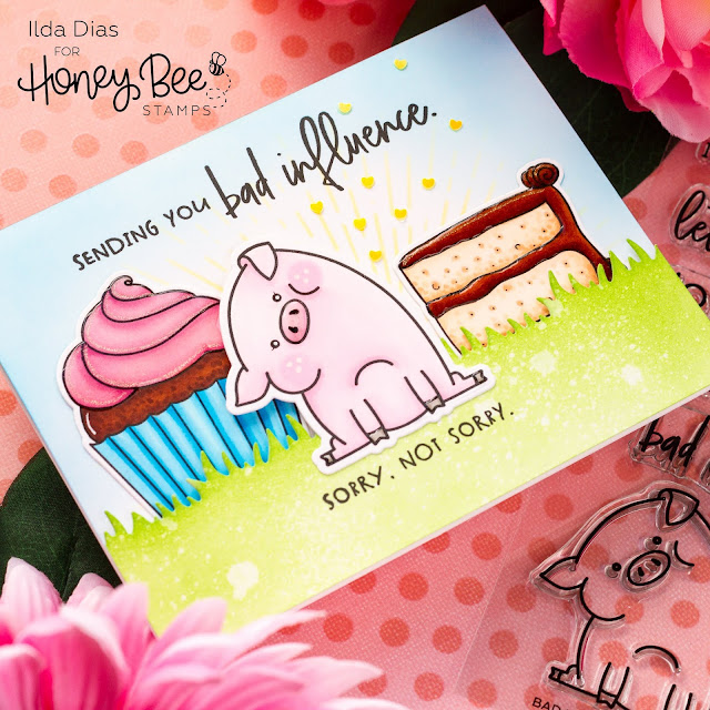 Bad Influence Birthday Card | Honey Bee Stamps