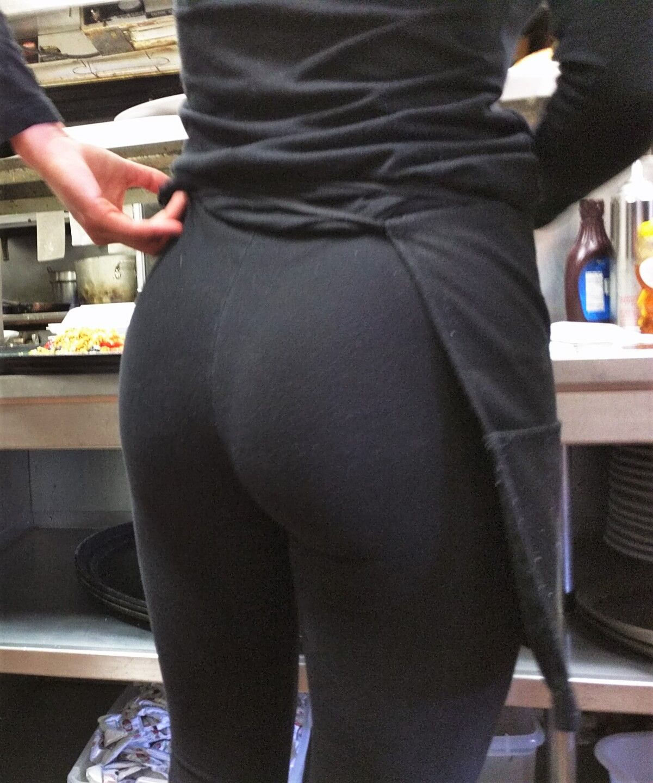 Jeans Bent Over Panties
