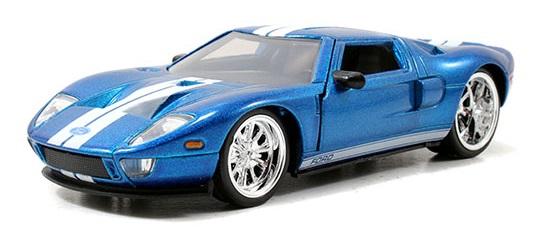 coleccion rapido y furioso, coleccion rapido y furioso jada tyos, coleccion rapido y furioso 1/32, 2005 Ford GT
