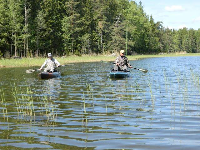 Wilderness Systems Ride 135 and Atak 140 fishing kayaks