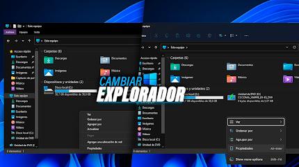 Volver al EXPLORADOR DE ARCHIVOS de Windows 10 en Windows 11