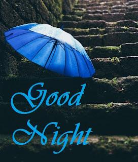 images of rainy good night