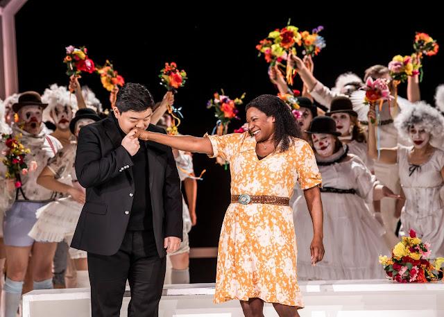 Verdi: Luisa Miller - David Junghoon Kim, Elizabeth Llewellyn - English National Opera ( © Tristram Kenton)