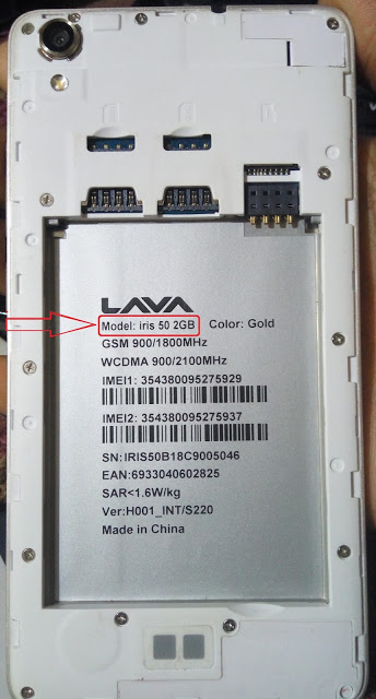 GsmUpdateFlashFile : LAVA iris 50 2GB Ram Flash File CM2