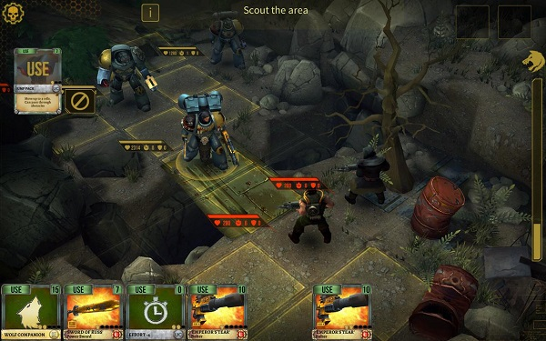 HeroCraft releases Warhammer 40,000: Space Wolf on Android