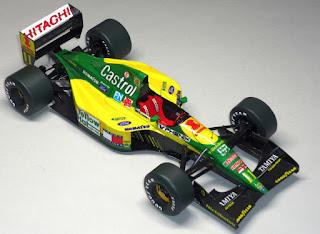 Lotus 107 - Mika Häkkinen - GP Japan 1992 (Miroslav Fabian)