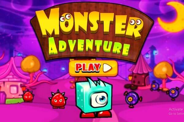Free Monster Adventure Play Online Game