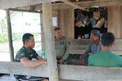 Anggota Satgas TMMD-110 Jantho, Memberikan Penyuluhan Kesehatan Lingkungan Di Lokasi TMMD Berlangsung