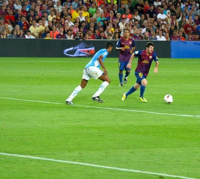 Lionel Messi scores hat trick against celta vigo