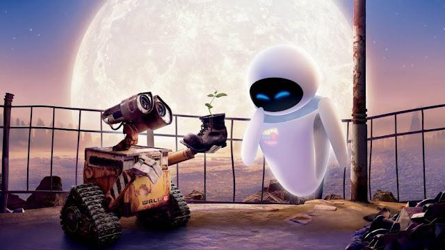 Imagen promocional de la película de Disney Pixar Wall-e