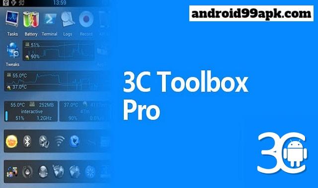 تطبيق 3C All-in-One Toolbox v2.2.9c كامل بحجم 14 ميجابايت للأندرويد