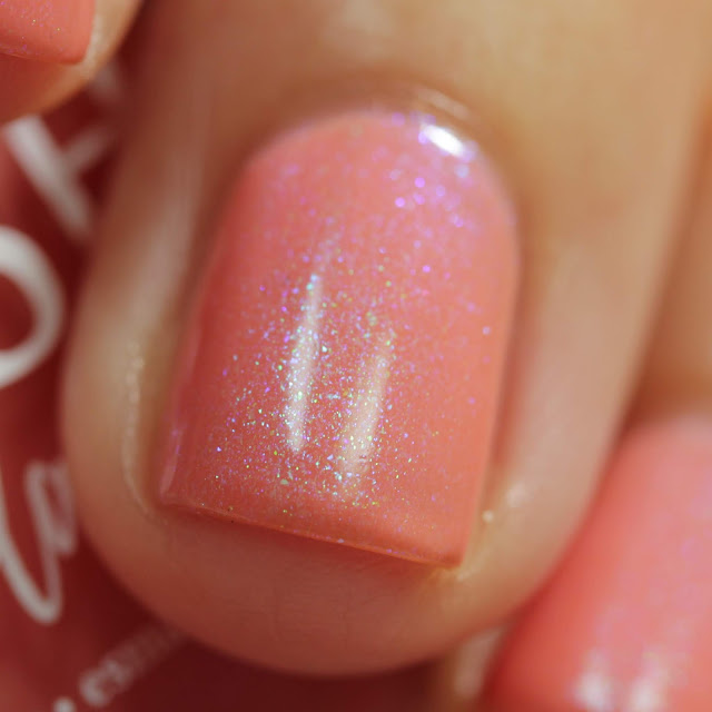 BLUSH Lacquers Kiss And Make Up swatch by Streets Ahead Style