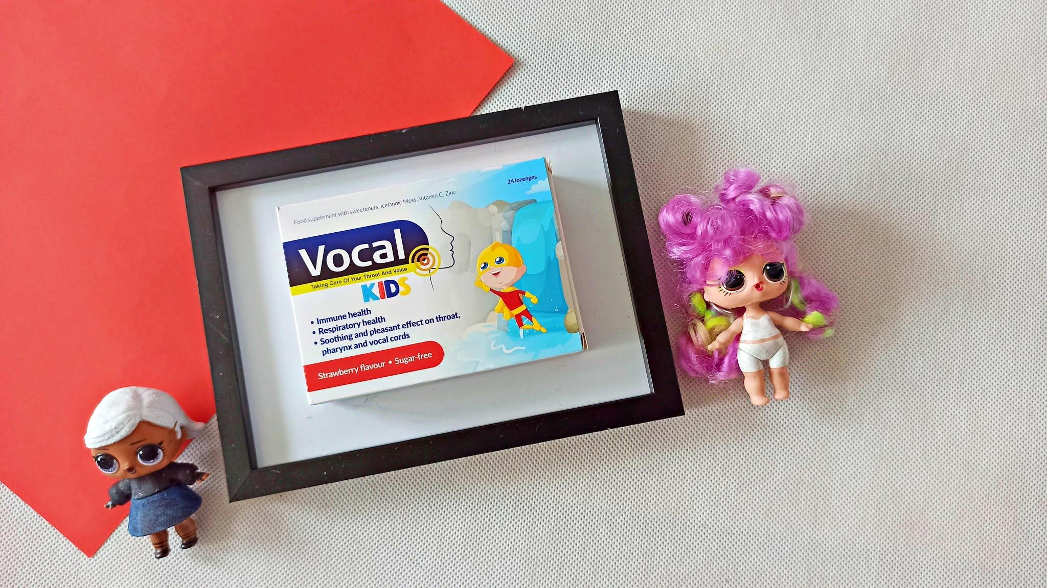 Na chrypkę i bolące gardło u dzieci - VOCAL Kids