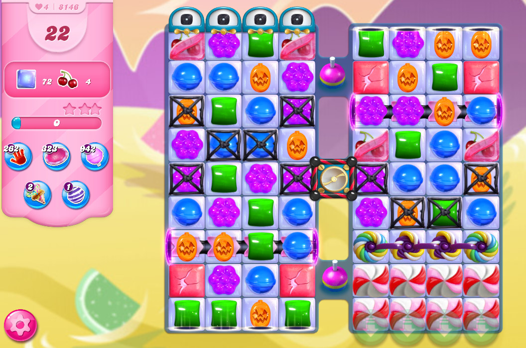 Candy Crush Saga level 8146