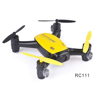 RC Leading RC 111F RC 111 Quadcopter Yellow
