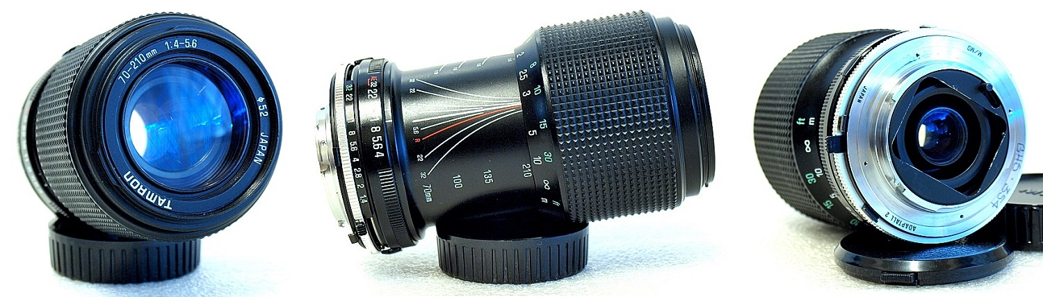 Tamron 158A 70-210mm F/4-5.6 Macro Adaptall MD Mount #345