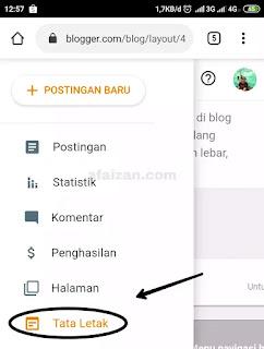 Cara Pasang Unit Iklan Adsense di Blog Lewat Android
