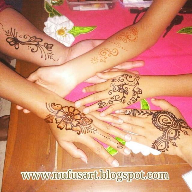 Katalog Henna Simple Nufus Art Face Painting Henna Body Painting