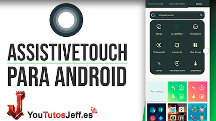 AssistiveTouch de iPhone para Android - Trucos Android