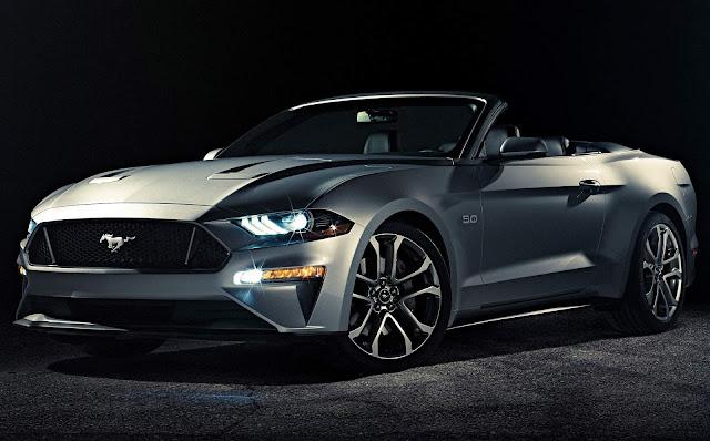 Novo Ford Mustang 2018 Conversível: imagens oficiais e informações